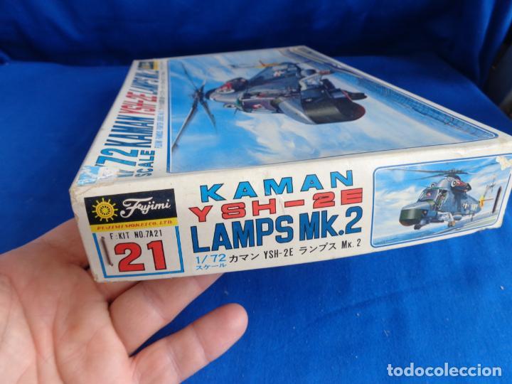 Maquetas: FUJIMI - MAQUETA AVION KAMAN YSH-2E LAMPS MK.2 ESCALA 1:72 VER FOTOS! SM - Foto 5 - 254641100