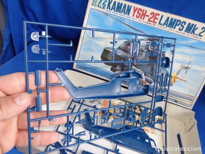 Maquetas: FUJIMI - MAQUETA AVION KAMAN YSH-2E LAMPS MK.2 ESCALA 1:72 VER FOTOS! SM - Foto 14 - 254641100
