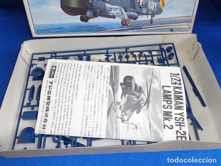 Maquetas: FUJIMI - MAQUETA AVION KAMAN YSH-2E LAMPS MK.2 ESCALA 1:72 VER FOTOS! SM - Foto 17 - 254641100