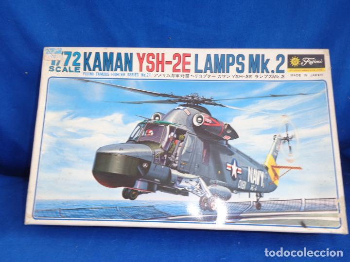 Maquetas: FUJIMI - MAQUETA AVION KAMAN YSH-2E LAMPS MK.2 ESCALA 1:72 VER FOTOS! SM - Foto 22 - 254641100