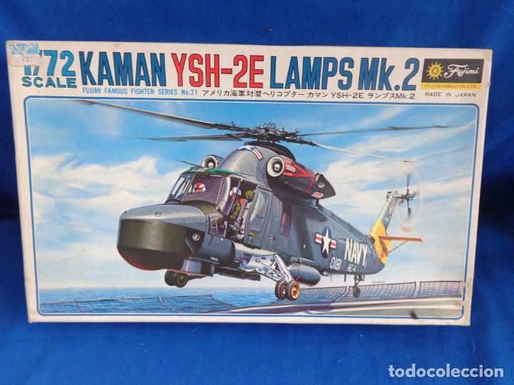 FUJIMI - MAQUETA AVION KAMAN YSH-2E LAMPS MK.2 ESCALA 1:72 VER FOTOS! SM (Juguetes - Modelismo y Radio Control - Maquetas - Aviones y Helicópteros)