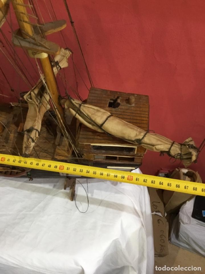 Maquetas: Antigua maqueta de madera.ver las imágenes - Foto 6 - 254688275
