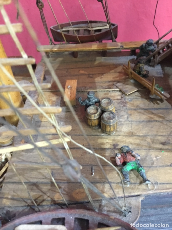 Maquetas: Antigua maqueta de madera.ver las imágenes - Foto 12 - 254688275