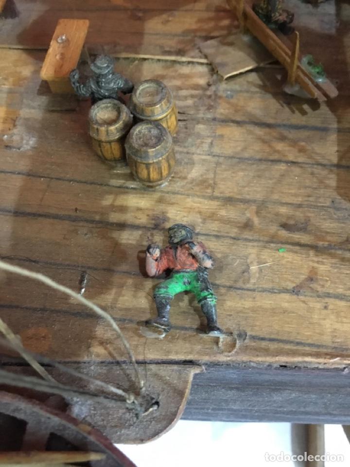 Maquetas: Antigua maqueta de madera.ver las imágenes - Foto 13 - 254688275