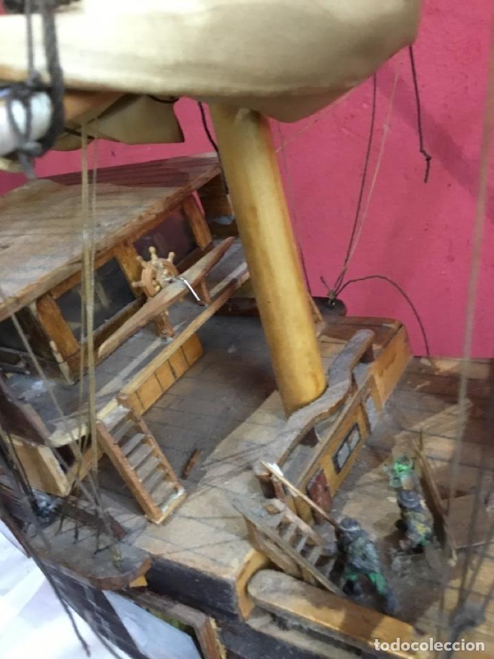 Maquetas: Antigua maqueta de madera.ver las imágenes - Foto 25 - 254688275