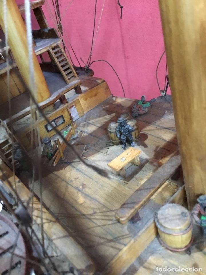 Maquetas: Antigua maqueta de madera.ver las imágenes - Foto 26 - 254688275