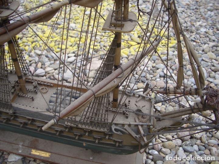 Maquetas: TEMERAIRE - maqueta madera barco 1664 - Foto 2 - 254703675