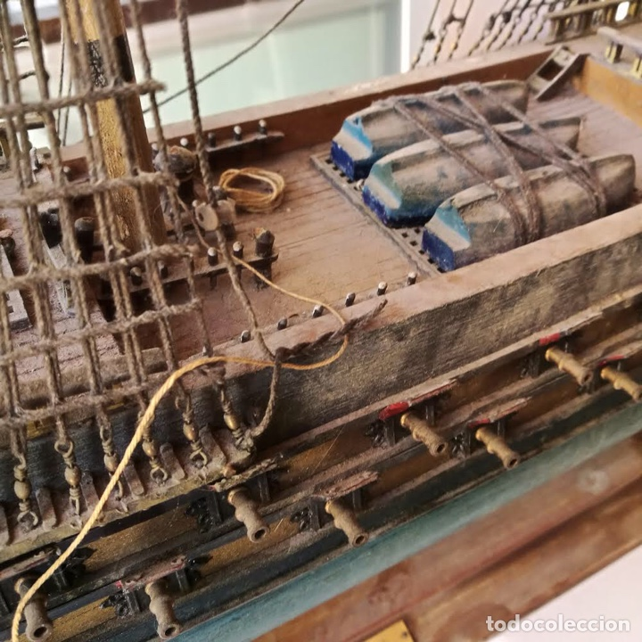 Maquetas: TEMERAIRE - maqueta madera barco 1664 - Foto 4 - 254703675
