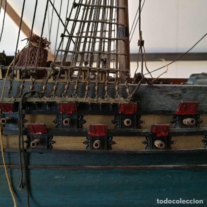 Maquetas: TEMERAIRE - maqueta madera barco 1664 - Foto 5 - 254703675