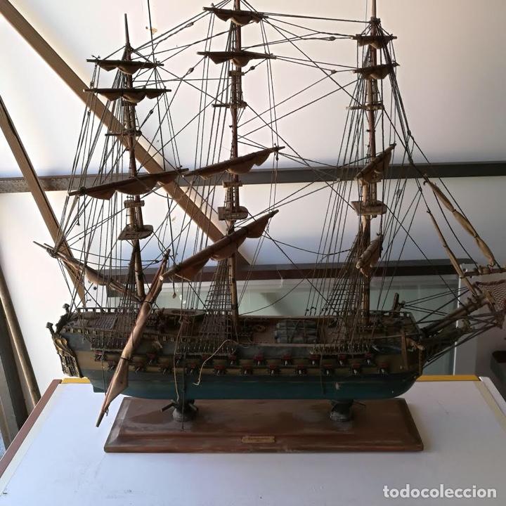 Maquetas: TEMERAIRE - maqueta madera barco 1664 - Foto 6 - 254703675
