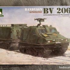 Maquetas: BANDVAGN BV 206S W/INTERIOR (CALCAS ESPAÑOLAS) 1:35 TAKOM 2083 MAQUETA CARRO TRACTOR. Lote 254705460