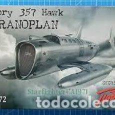 Maquetas: AMP - VICTORY 357 HAWK EKRANOPLAN 1/72 72010. Lote 254999685