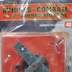 Maquetas: AVIONES DE COMBATE WW2. SEGUNDA GUERRA MUNDIAL. GRUMMAN F4F-3 WILDCAT. Lote 255457785
