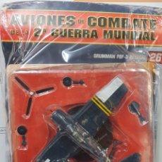 Maquetas: AVIONES DE COMBATE WW2. SEGUNDA GUERRA MUNDIAL. GRUMMAN F6F-5 HELLCAT. Lote 255458340