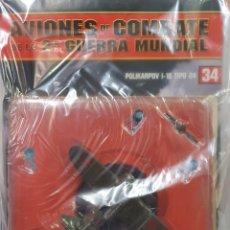 Maquetas: AVIONES DE COMBATE WW2. SEGUNDA GUERRA MUNDIAL. POLIKARPOV I-16 TIPO 24. Lote 255458615