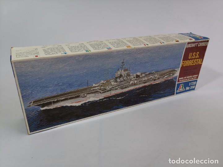 ITALERI USS FORRESTAL. 1:72. NÚMERO 510 (Juguetes - Modelismo y Radiocontrol - Maquetas - Barcos)