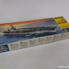 Maquettes: ITALERI CVN 70 CARL VINSON. 1:72. NÚMERO 506. Lote 255516620