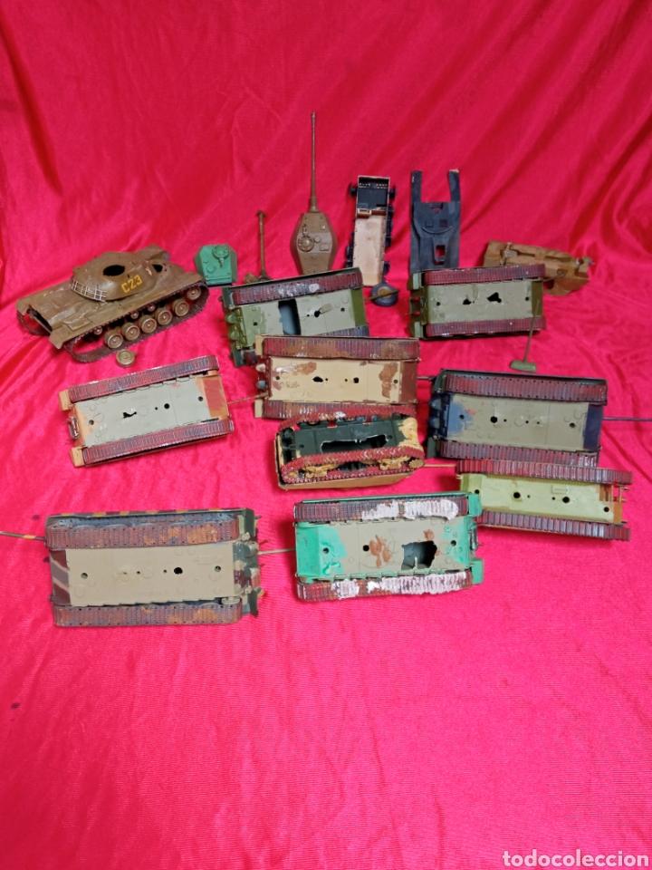 Maquetas: Lote 9 tanques carros de combate PANTHER. KING TIGER. JAGD TIGER. 1/43 plástico metal - Foto 6 - 255938540
