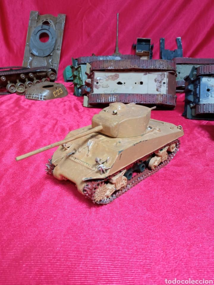Maquetas: Lote 9 tanques carros de combate PANTHER. KING TIGER. JAGD TIGER. 1/43 plástico metal - Foto 19 - 255938540