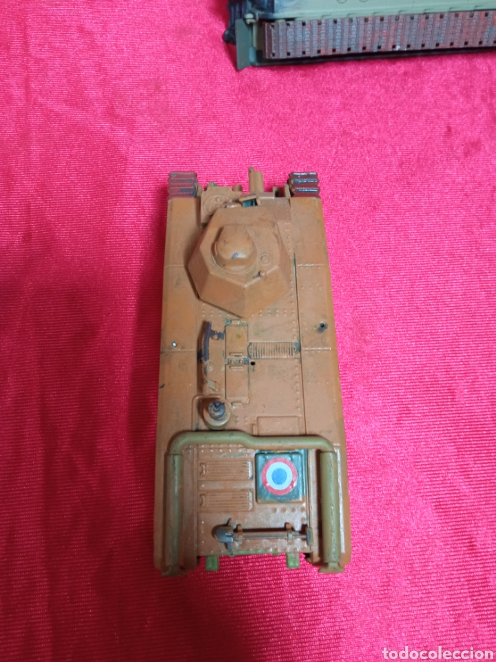 Maquetas: Lote 9 tanques carros de combate PANTHER. KING TIGER. JAGD TIGER. 1/43 plástico metal - Foto 24 - 255938540
