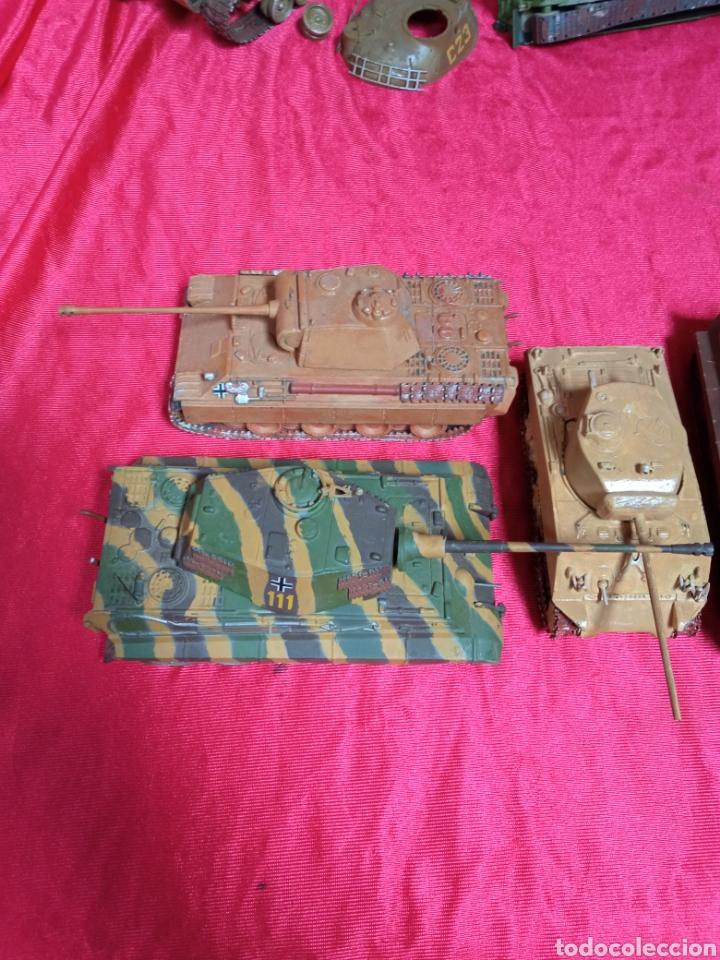 Maquetas: Lote 9 tanques carros de combate PANTHER. KING TIGER. JAGD TIGER. 1/43 plástico metal - Foto 25 - 255938540