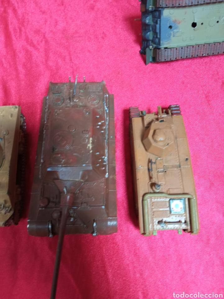 Maquetas: Lote 9 tanques carros de combate PANTHER. KING TIGER. JAGD TIGER. 1/43 plástico metal - Foto 26 - 255938540