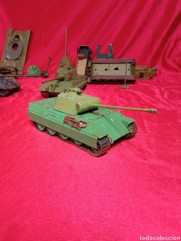 Maquetas: Lote 9 tanques carros de combate PANTHER. KING TIGER. JAGD TIGER. 1/43 plástico metal - Foto 31 - 255938540