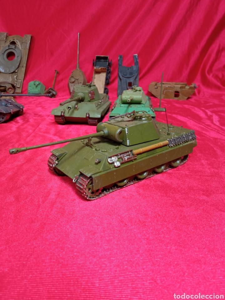 Maquetas: Lote 9 tanques carros de combate PANTHER. KING TIGER. JAGD TIGER. 1/43 plástico metal - Foto 32 - 255938540