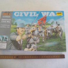 Maquetas: AMERICAN CIVIL WAR IMEX 1/32 CONFEDERATE ARTILLERY SET. NO. 702. PRECINTADO. GUERRA CIVIL USA. Lote 255946580
