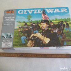 Maquetas: AMERICAN CIVIL WAR IMEX 1/32 UNION ARTILLERY SET. NO. 701. GUERRA CIVIL USA. Lote 255948285