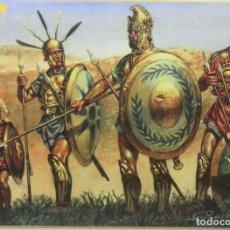 Maquetas: MAQUETA FIGURAS ROMANOS – ALIADOS ITALIANOS, REF. 8040, 1/72, HAT. Lote 296769573