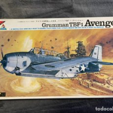 Maquetas: GRUMMAN TBF-1 AVENGER 1:48 NICHIMO 4809 MAQUETA AVION. Lote 256076050