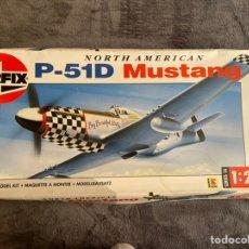 Maquetas: P-51D MUSTANG 1:24 AIRFIX 14001 MAQUETA AVION. Lote 256085070