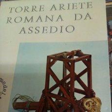 Maquetas: TORRE ARIETE ROMANA DE ASEDIO EN MADERA MANTUA MODELO ENVIO INCLUIDO. Lote 257270230