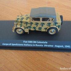 Maquetas: ALTAYA: COCHES MILITARES DE LA 2ª GUERRA MUNDIAL , 1/43 : FIAT 508 CM COLONIALE ( 1941 ). Lote 257306000
