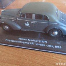 Maquetas: ALTAYA: COCHES MILITARES DE LA 2ª GUERRA MUNDIAL 1/43 : ADMIRAL KABRIOLET ( 1937 ). Lote 257308795