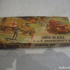 Maquetas: AIRFIX 00 SCALE R. A. F. EMERGENCY SET MONTADO PARA DIORAMA VER FOTOS. Lote 257375840