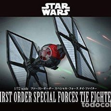Maquetas: BANDAI 203219 # 1/72 FIRST ORDER SPECIAL FORCES TIE FIGHTER. Lote 257530225