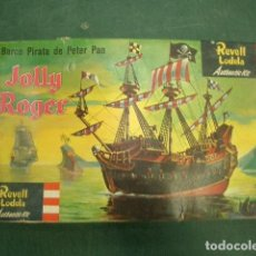 Maquetas: EL BARCO DE PETER PAN, THE HOLLY ROGER. Lote 257661230