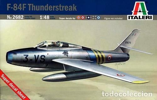 ITALERI 2682 # F-84F 'THUNDERSTREAK' 1:48 (Juguetes - Modelismo y Radiocontrol - Maquetas - Militar)
