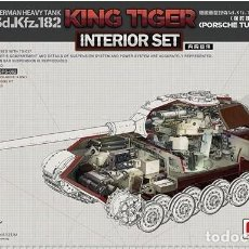 Maquetas: MENG SPS062 # 1:35 GERMAN HEAVY TANK SD.KFZ.182 KING TIGER (PORSCHE TURRET) INTERIOR SET. Lote 257880230
