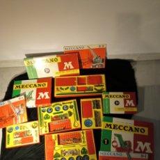Macchiette: LOTE MECCANO AÑOS 60 CON CAJAS. Lote 257978565