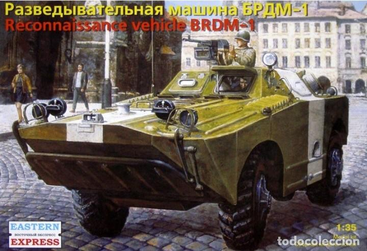 EASTERN EXPRESS 35161 # BRDM-1 RUSSIAN ARMORED RECONNAISSANCE / PATROL VEHICLE 1/35 (Juguetes - Modelismo y Radiocontrol - Maquetas - Militar)