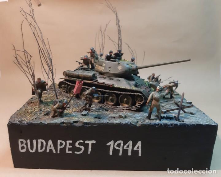 DIORAMA MAQUETA -BUDAPEST 1944 (Juguetes - Modelismo y Radiocontrol - Maquetas - Militar)