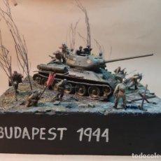 Maquetas: DIORAMA MAQUETA -BUDAPEST 1944. Lote 259329210