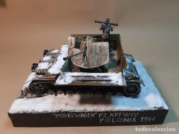 DIORAMA MAQUETA -PANZER IV MOBELWAGEN-POLONIA 1944 (Juguetes - Modelismo y Radiocontrol - Maquetas - Militar)
