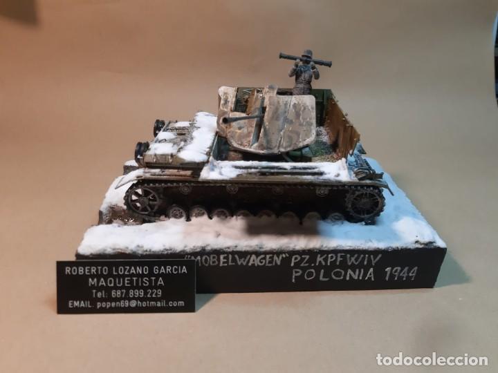 Maquetas: DIORAMA MAQUETA -PANZER IV MOBELWAGEN-POLONIA 1944 - Foto 2 - 259329830