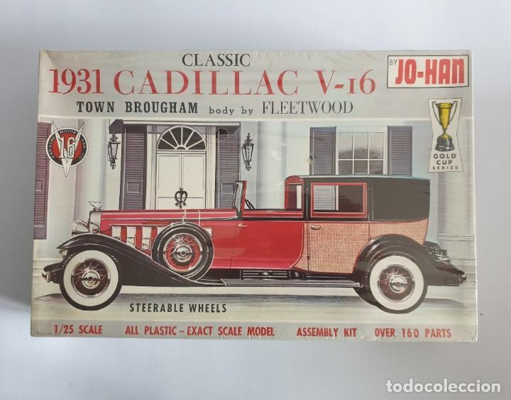 MAQUETA ANTIGUA MODELISMO 1931 CADILLAC V-16 TOWN BROUGHAM NUEVO (Juguetes - Modelismo y Radiocontrol - Maquetas - Coches y Motos)