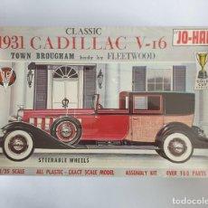 Maquetas: MAQUETA ANTIGUA MODELISMO 1931 CADILLAC V-16 TOWN BROUGHAM NUEVO. Lote 259864860