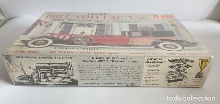 Maquetas: Maqueta antigua modelismo 1931 Cadillac V-16 Town Brougham nuevo - Foto 3 - 259864860